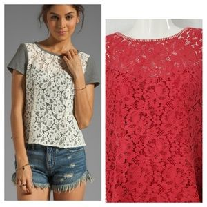 Nanette Lepore Grand Entry Lace Top